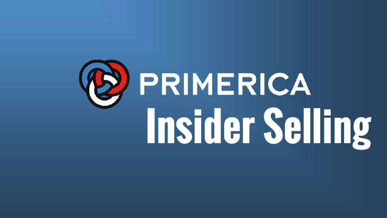 Primerica Files Forms for Insider Selling
