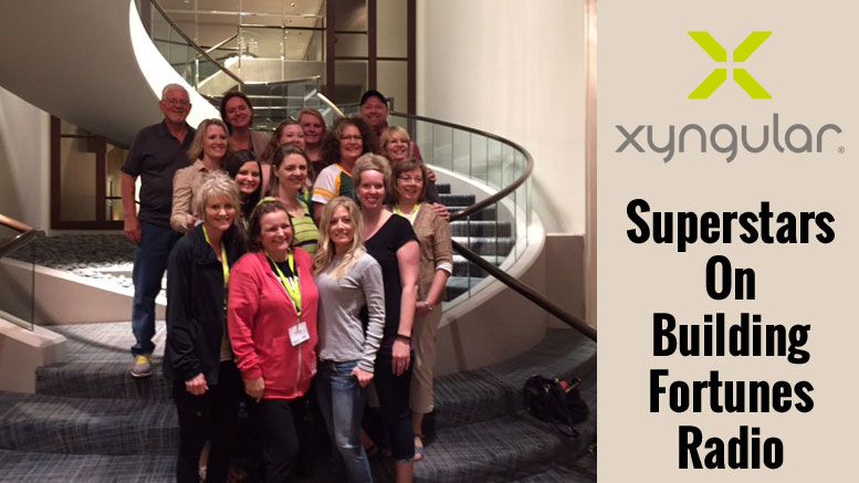Xyngular Superstars on Building Fortunes Radio